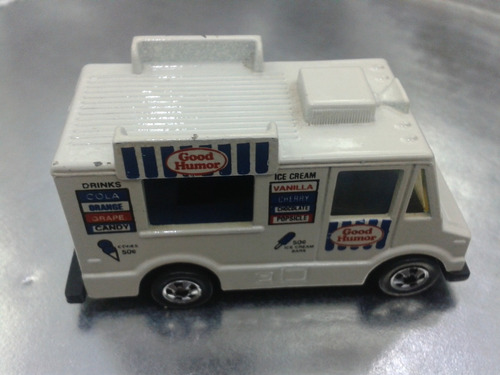 hot wheels - good humor truck de 1984 malaysia 1a edic. bs