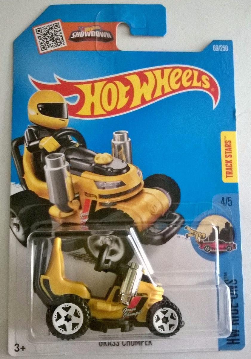 hot wheels grass chomper go kart carreras en. Black Bedroom Furniture Sets. Home Design Ideas