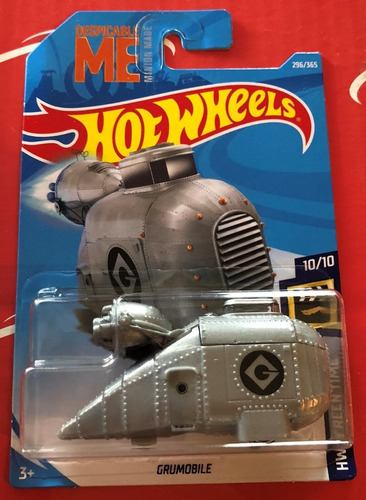 hot wheels grumobile minions despicable me 2019