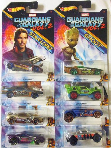 hot wheels guardianes de la galaxia 2 precio por los 8