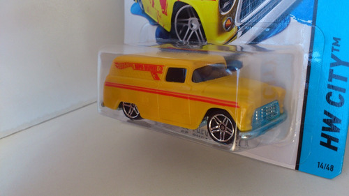hot wheels - hw city - color shifters - '55 chevy panel