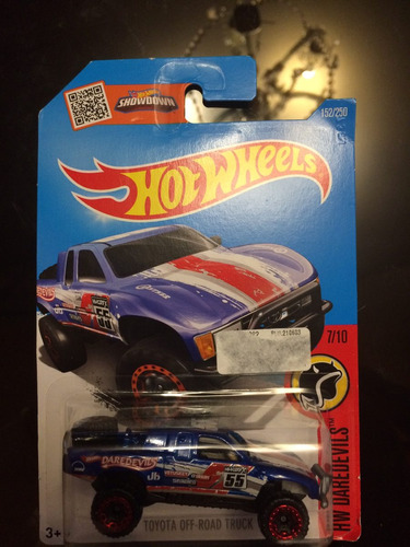 hot wheels hw daredevils toyota off-road truck
