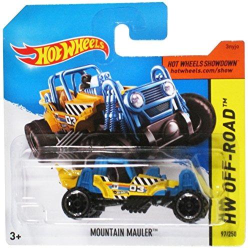 hot wheels hw off-road amarillo / azul de la mo envío gratis