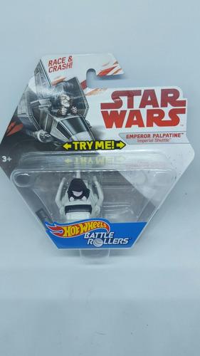 hot wheels imperial shuttle starwars emperador palpatine