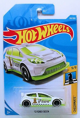hot wheels int. \ '12 ford fiesta 263/365 checkmate 9/9