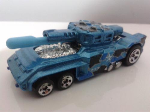 hot wheels invader tank metal exercito militar guerra
