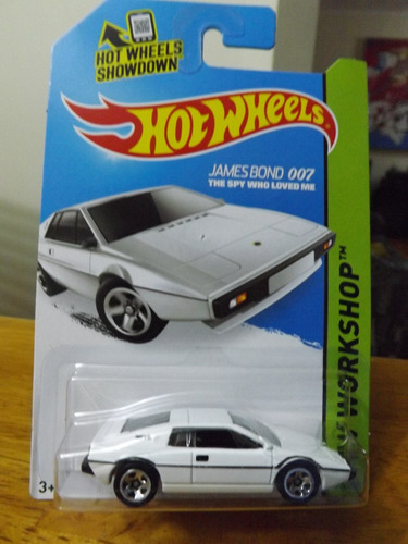 hot wheels james bond 007 lotus sprit s1 spy who loved me