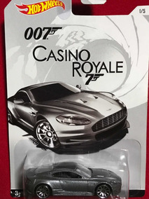 Hotwheels James Bond Casino Royale Aston Martin DBS Real Rider Neumáticos De Goma
