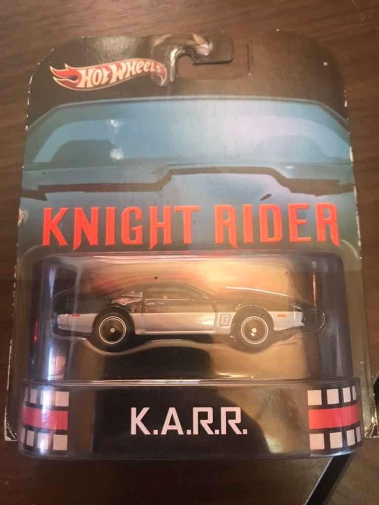Hot Wheels - Knight Rider - Karr - Super Máquina - Retro