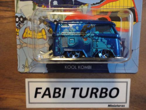 hot wheels kool kombi - the beatles yellow submarine