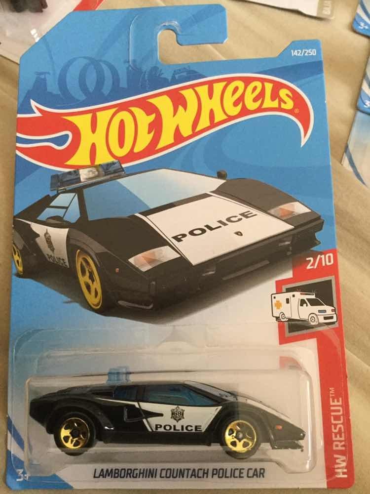 Hot Wheels Lamborghini Countach Police Car 2 10 39 00 En Mercado