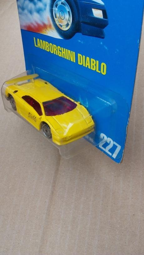 Hot Wheels Lamborghini Diablo Amarillo Vintage 1990 399 00 En