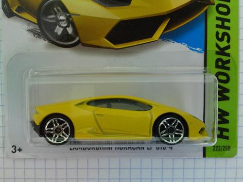 hot wheels lamborghini huracan edicion 2015 serie garage