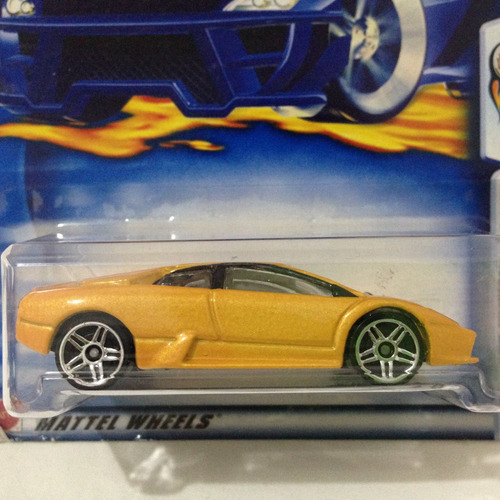 Hot Wheels Lamborghini Murcielago 2003 #043 Hw Mattel   M3