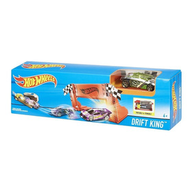 Hot Wheels Lanzador Pista Obstaculo Autito Maestro Del Drift