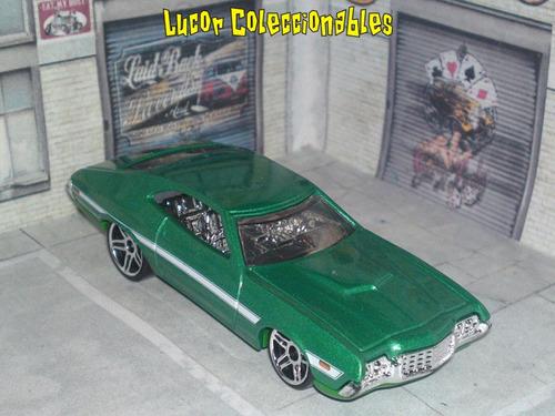 hot wheels loose rapido y furioso ford gran torino lcatoy79