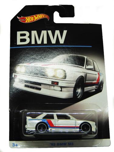 hot wheels lote bmw coleção 2016 - 4 carros diecast - mattel