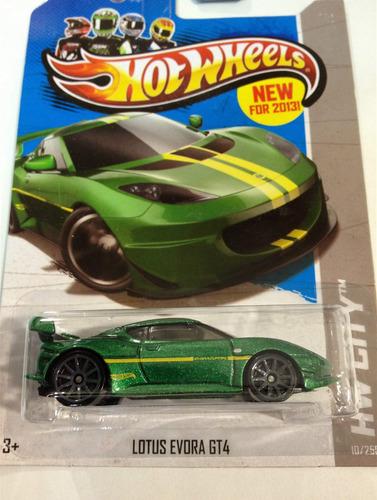 hot wheels lotus evora gt4