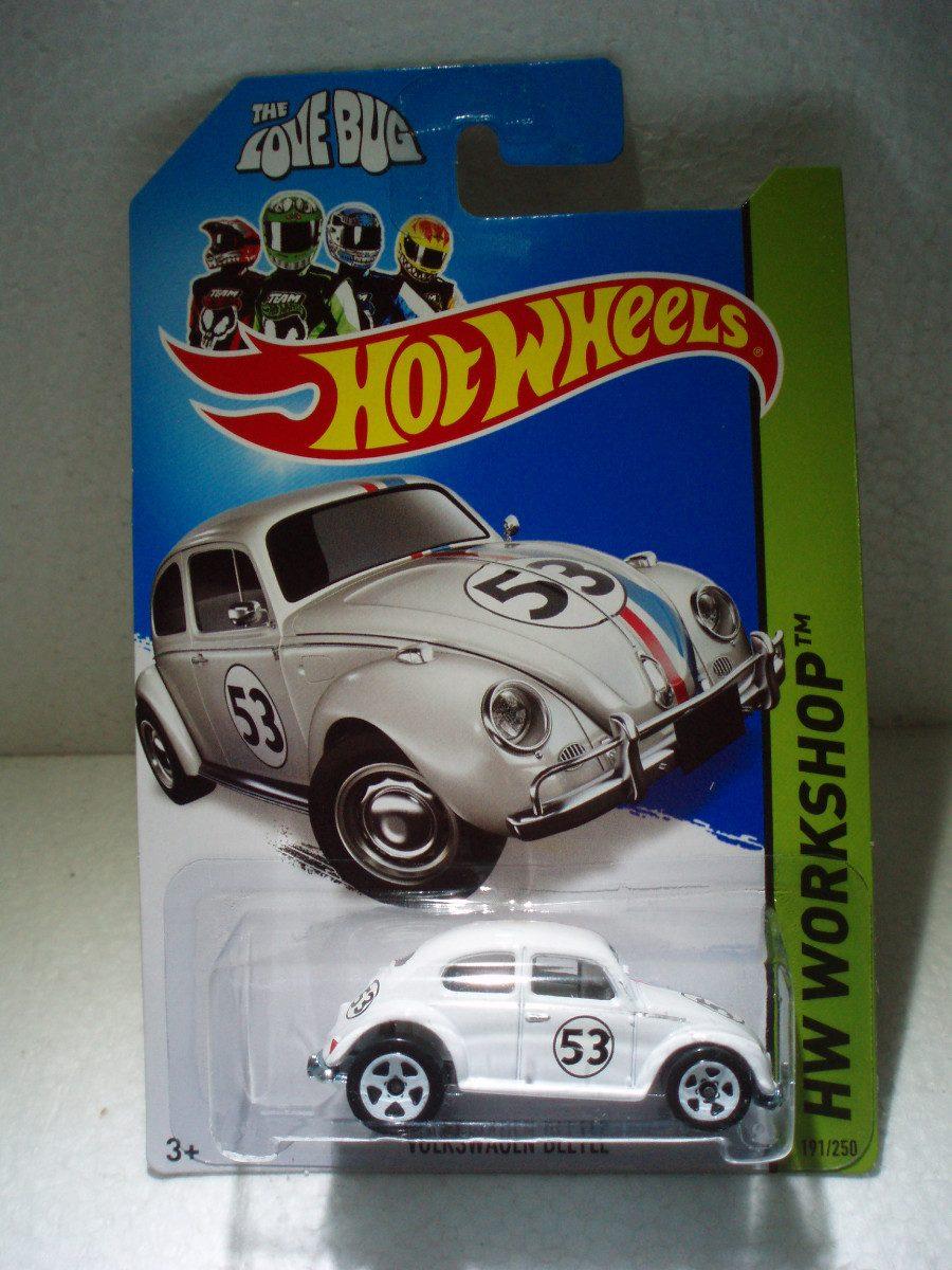 hot wheels love bug herbie vw volkswagen beetle    en mercado libre
