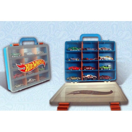 hot wheels maleta guarda autos hwcc5