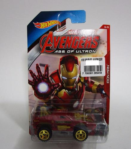 hot wheels marvel avengers iron man sting rod x1