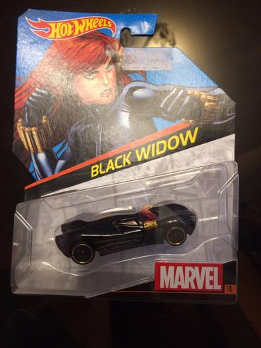 hot wheels marvel black widow #18