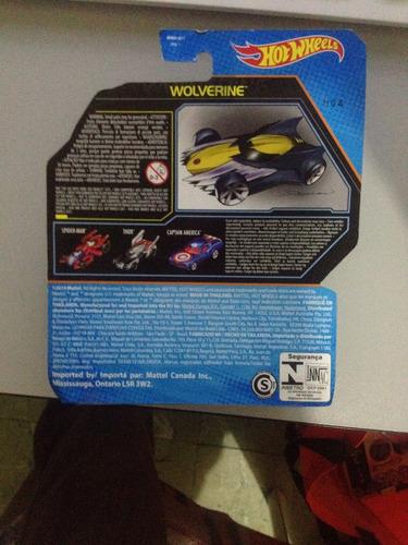hot wheels marvel wolverine