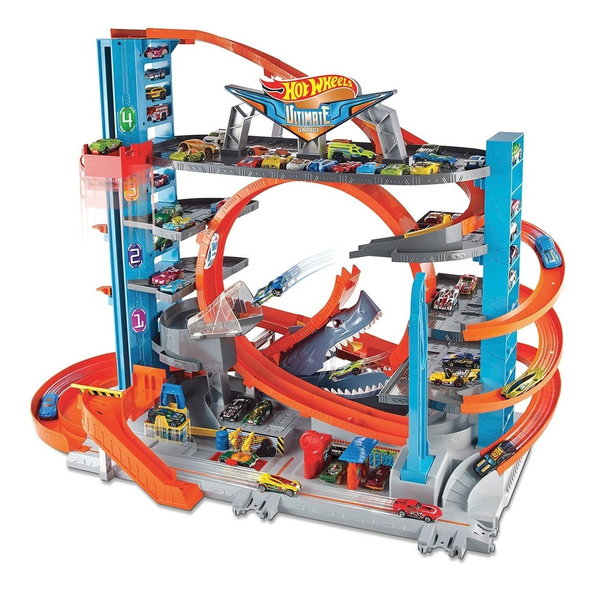 Hot Wheels Mega Garage Ultimate City Mattel