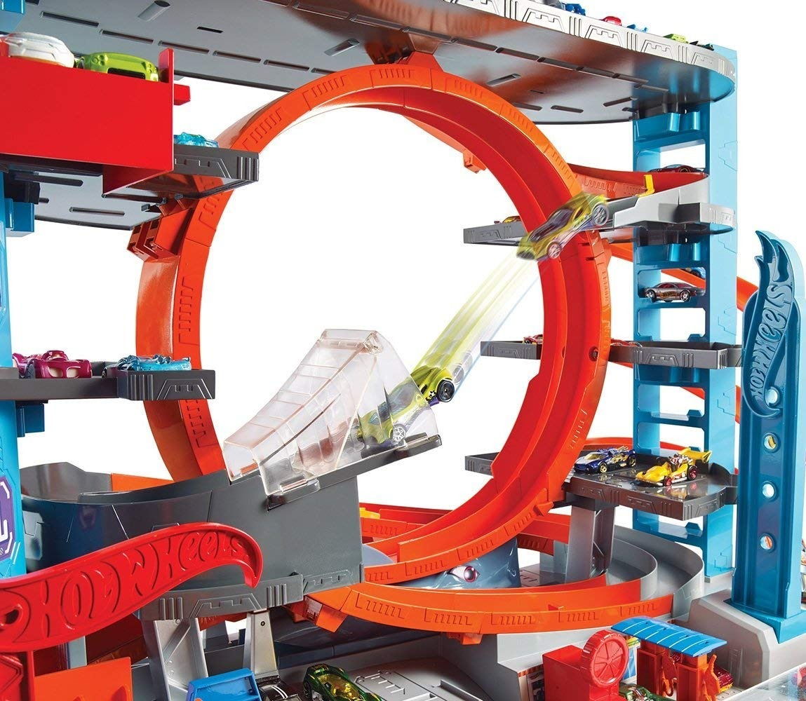 Hot Wheels Mega Garagem City Box