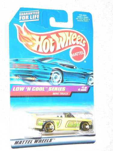 hot wheels mini truck, low`n cool series hecho en 1997