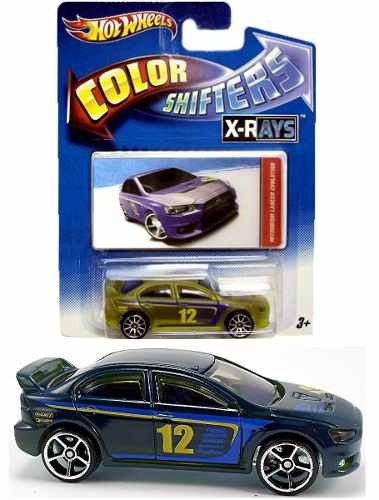 hot wheels mitsubishi lancer cambia color shifters mrtoy