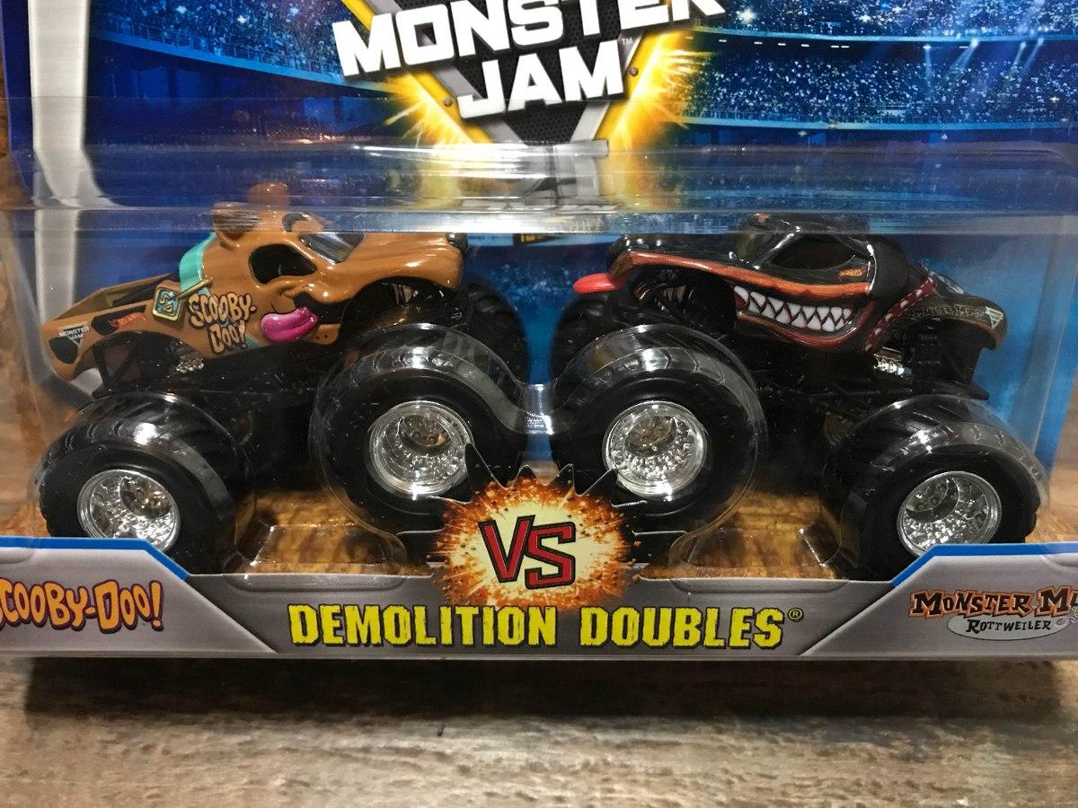 Hot Wheels Monster Jam - Vs Scooby-Doo - R 450,00 Em-6986