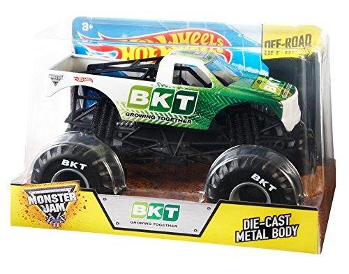 hot wheels monster jam vehículo escala 124 bkt