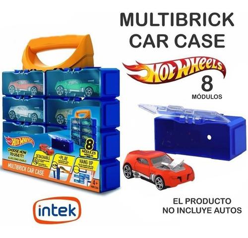 hot wheels multibrick car case modulo guarda 8 autos bigshop