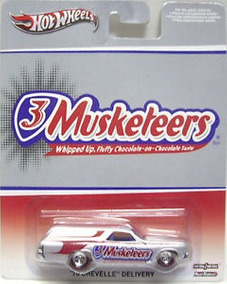 Hot Wheels Musketeers - 70 Chevelle Delivery - En Blister