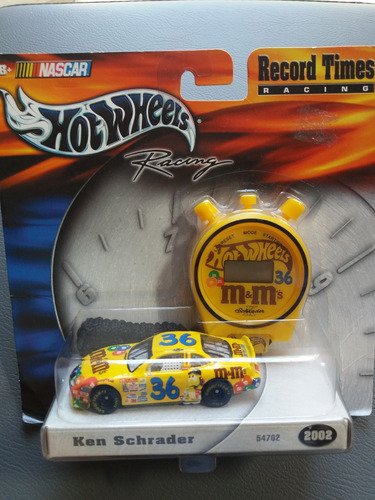 hot wheels nascar record times m&m