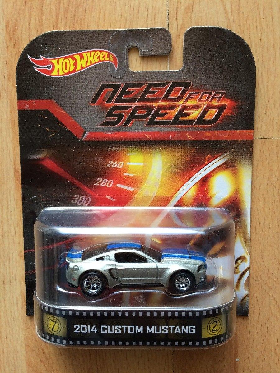 Hot Wheels Need For Speed 2014 Custom Mustang Retro 650 00 En Mercado Libre