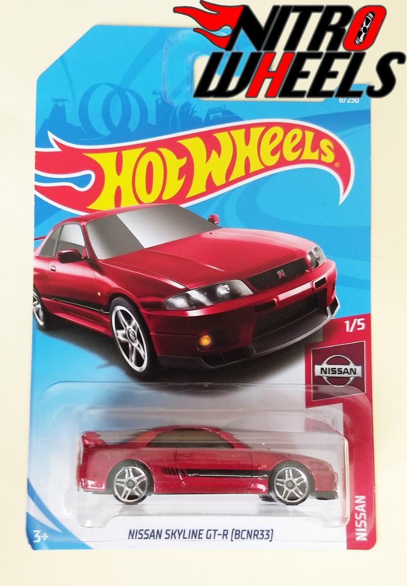 Hot Wheels Nissan Skyline Gt R Bcnr33 Rojo 1 De 5 40 00 En