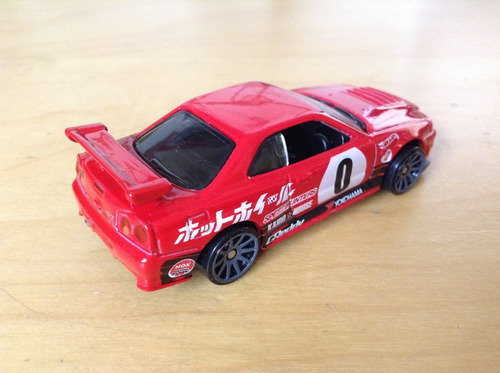 hot wheels nissan skyline gt-r (r34) need for speed
