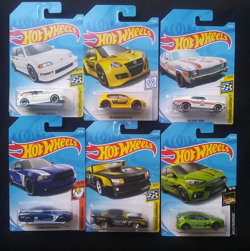 hot wheels nuevos y originales combo 3 por 10 verdes