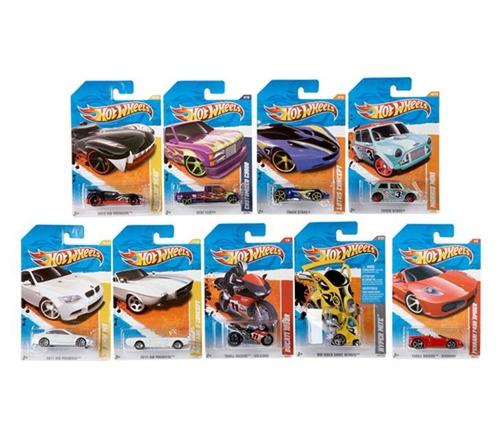 hot wheels pack x 5 colección autos surtidos original mattel