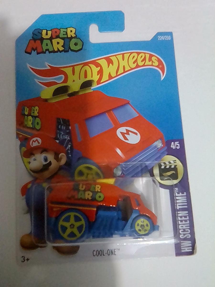 Hot Wheels Paquete De 5 Carritos De Caricaturas 15000 En