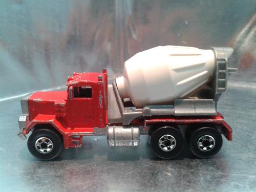 hot wheels - peterbilt cement mixer de 1980 hong kong #3