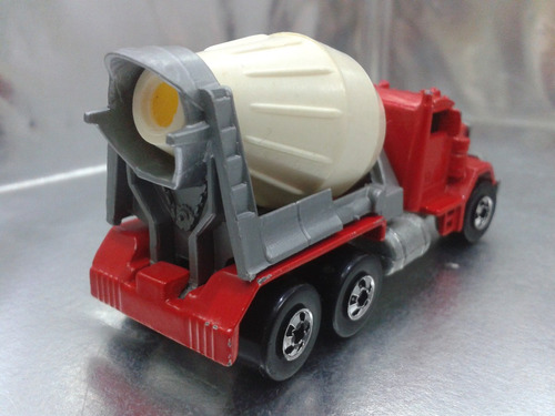 hot wheels - peterbilt cement mixer de 1985 malaysia #2 bs