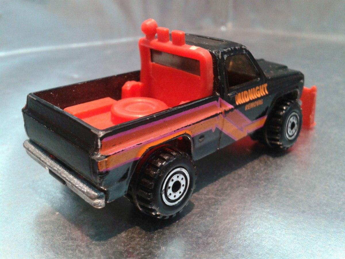 hot wheels pick up gmc power plower de 1989 1. Black Bedroom Furniture Sets. Home Design Ideas
