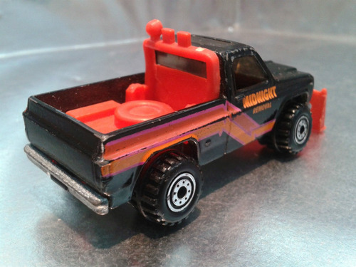hot wheels - pick up gmc power plower de 1989 #1