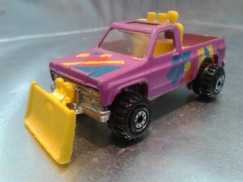 hot wheels - pick up gmc power plower de 1991 #3