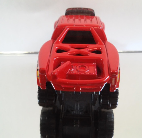 hot wheels pick up vermelha exclusiva de pack (loose)