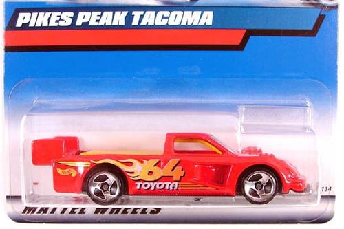 hot wheels pikes peak tacoma - 148 de 2000 (lacrado)