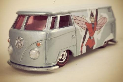 hot wheels - pop culture - volkswagen t1 panel - marvel